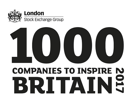 Durbin identified as one of 1000 Companies to Inspire Britain