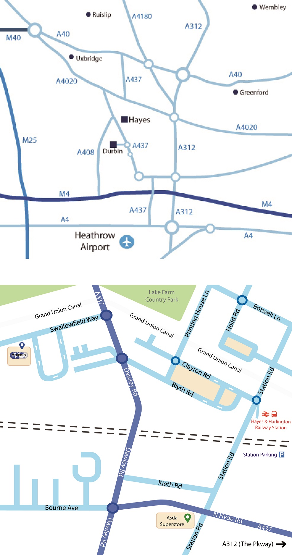 Map & Directions (Head Office)